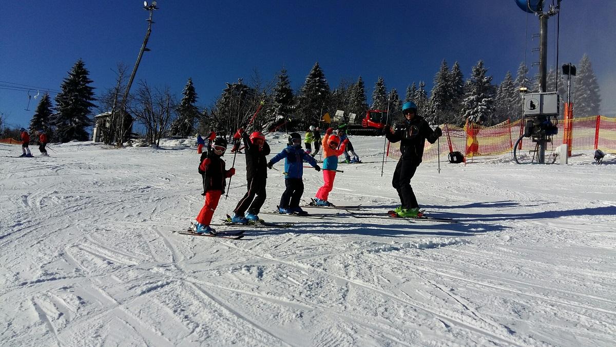 Trainingsauftakt Alpin in heimischen Gefilden